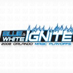 Blue & White Ignite
